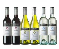 Angove Organic Red and White Mixed - 6 Bottles