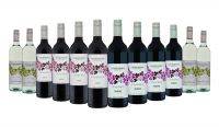 Churchview Estate Silverleaf Red and White Mixed - 12 Bottles
