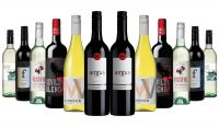 Discovery of Best Red & White Mixed - 12 Bottles