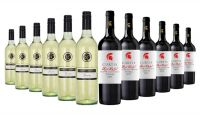 Emmetts Crossing Reserve SSB & Curtis Red Label Shiraz Mixed - 12 Bottles
