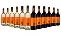 Ferngrove Symbols Red and White Mixed - 12 Bottles