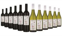 Giggling Goose Red & White Mixed - 12 Bottles