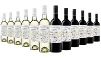 Silkwood Estate The Bowers Red & White Mixed - 12 Bottles