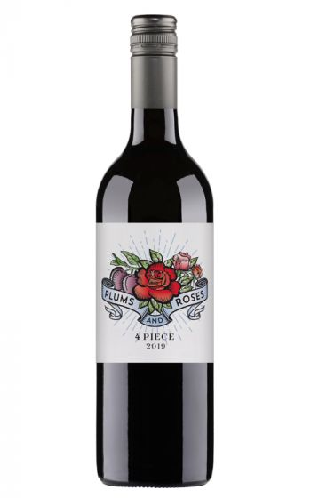Alex Russell Plumbs and Roses 4 Piece Durid Blend 2019 Riverland - 12 Bottles