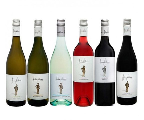 Audrey Wilkinson Series Red & White Mixed - 6 Bottles