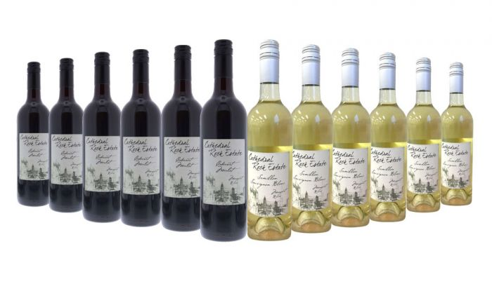 Cathedral Rock Estate Red and White Mixed Margaret River - 12 Bottles