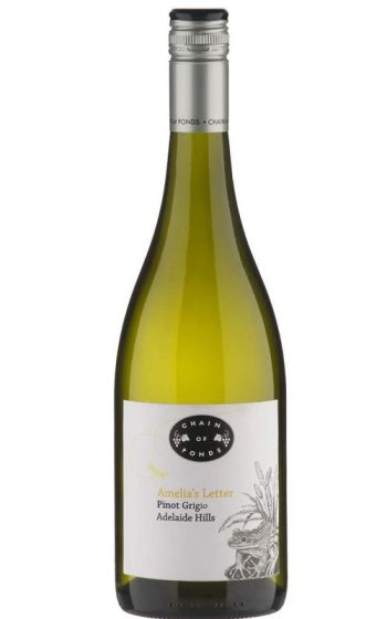 Chain of Ponds Amelia's Letter Pinot Grigio 2020 Adelaide Hills - 12 Bottles