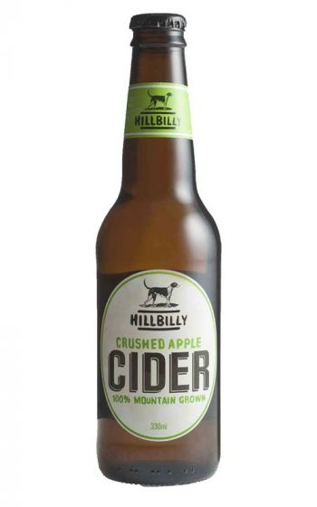 Hillbilly Crushed Apple NV New South Wales 330ml - 24 Bottles