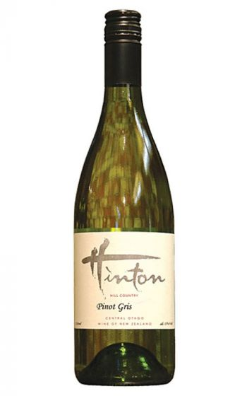 Hinton Hill Country Pinot Gris 2015 Central Otago - 12 Bottles