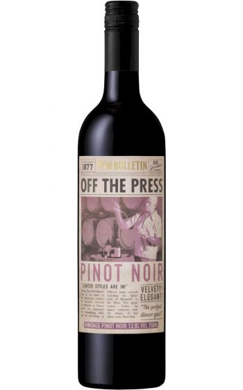 Mcwilliams Off The Press Pinot Noir 2020 New South Wales - 12 Bottles