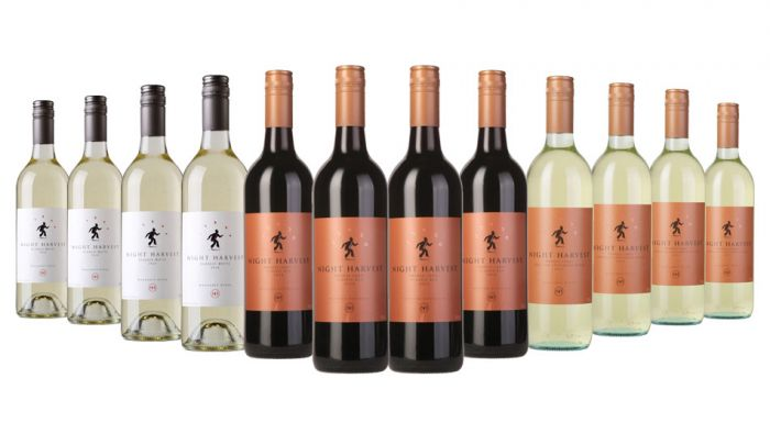 Night Harvest Special Red and White Mixed - 12 Bottles
