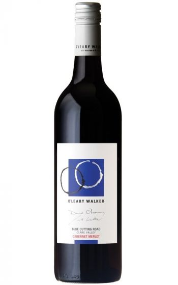 O'Leary Walker Blue Cutting Road Cabernet Merlot 2017 Clare Valley - 6 Bottles
