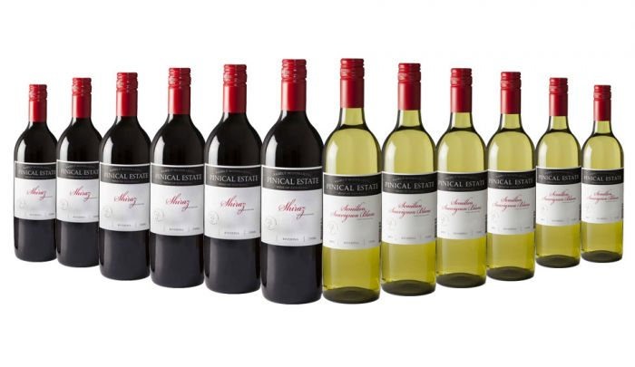 Pinical Estate Red and White Mixed Riverina -12 Bottles
