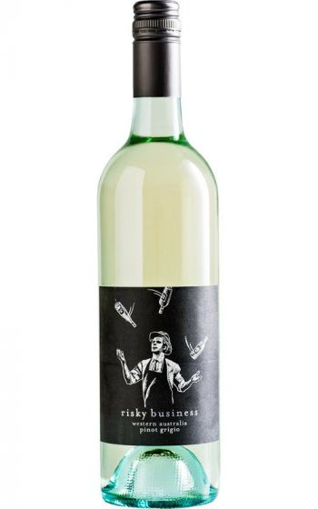 Risky Business Pinot Grigio 2020 King Valley - 12 Bottles