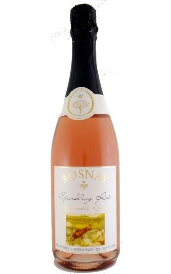 Rosnay Organic Sparkling Rose Cowra 2011 Central Ranges NSW - 6 Bottles