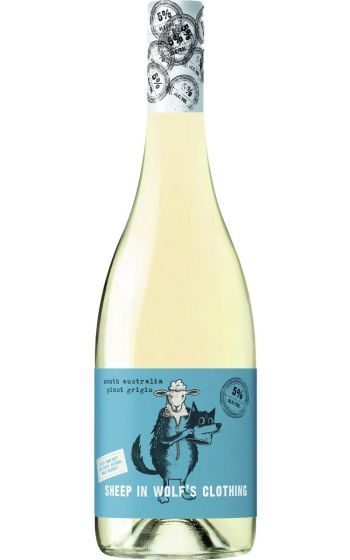 Sheep in Wolf's Clothing Pinot Grigio 2020 South Australia - 6 Bottles