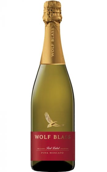 Wolf Blass Red Label Pink Moscato SEA - 6 Bottles