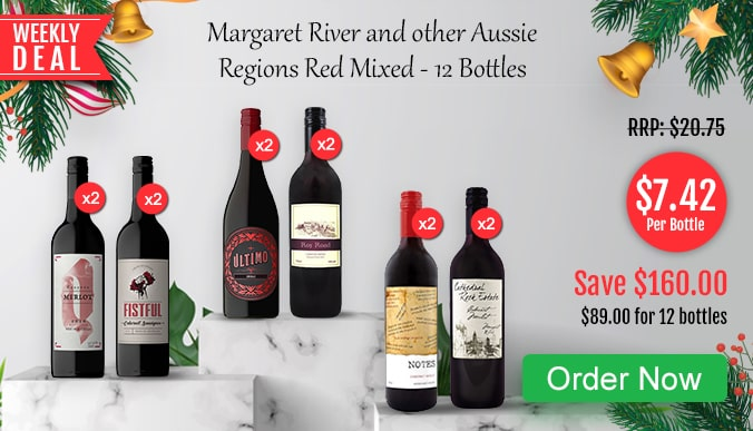 Weekly Deals','Margaret River and other Aussie Regions Red Mixed - 12 Bottles